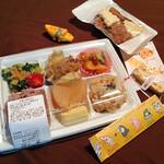 らでぃっしゅ - 料理写真:からだにやさしい野菜弁当 600円