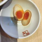 喜多方ラーメン 坂内 - 味玉