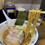 天鳳 - 西山製麺の麺