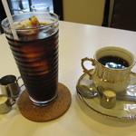 アザミ - アイスコーヒーとコーヒー