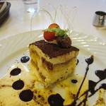 アザミ - イタリア風チーズケーキアップ
