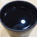 ふく福 - 黒白波 お湯割り