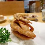 うえ山 - 料理写真:素揚げ モモ