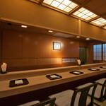 日本料理山崎 - カウンター