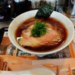 らあめん花月嵐 - 料理写真:期間限定 しょうゆらぁ麺 飯田商店 1,100円