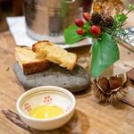 オステリア セルヴァジーナ - 自家製パン、オリーブオイル