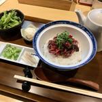 源兵衛 - 肉のひつまぶし980円+税