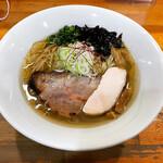 麺屋 むじゃき - 【ゲリラ限定】オマール海老風味塩そば ¥830-