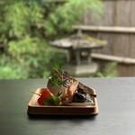 おりょうり京町 萬谷 - 料理写真:菊コース前菜です。※内容は季節で変わります。