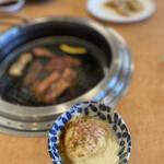 あおぞら - 上州定食にはヤッコが付く。コレがなんと汲み上げ豆腐っぽく上手い!ぬぬぬ!抜かりが無い(゚ω゚)