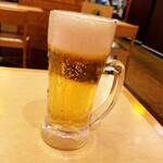 炭焼 豚丼 小豚家 - 小ビール