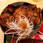 炭焼 豚丼 小豚家 - ロース豚丼ハーフ