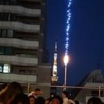 六本木ビアガーデン - 東京タワー