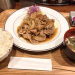 手作り食堂 大野亭 - 大野亭吉祥寺店(最強の生姜焼き)