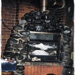 Steak House GAIN  - 焼き場