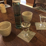串焼 鉄板 ぼの - 日本酒スタート