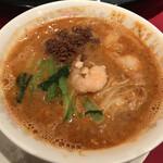 龍鳳 - 坦々麺(挽肉・エビ)