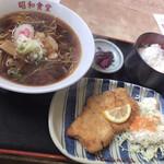 昭和食堂 - とんかつセット