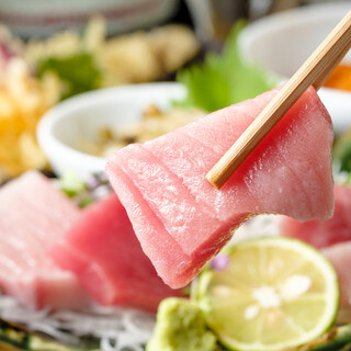 【ホンモノ追求】生本鮪と牡蠣や鮮魚