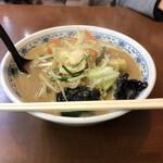くるまやラーメン - 料理写真:みそ野菜ラーメン、790円税別。