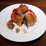 14198186 - ジューシー若鶏のロースト ハーブの香り(590円)