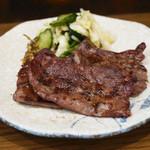 牛たん おやま - 極上牛たん焼き定食