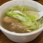 牛たん おやま - テールスープ