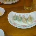 14198959 - 赤餃子、白餃子