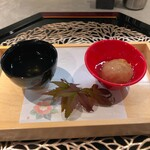 Sousakuryourisakura - 車海老入り蓮根饅頭銀餡 柚子