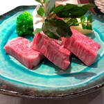 Sousakuryourisakura - 増田牛の鉄板ステーキ
