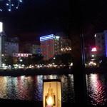 14199021 - 店内から見た中洲の夜景・・・・★