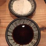 エムイソスタンド - 醤油とドレッシング