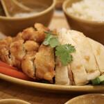 シンガポール 海南鶏飯 -