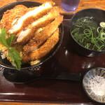 うどん大文字 - 極みカツ丼