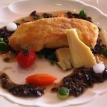イル・ド・ソレイユ - 鯛のチーズはさみ焼き