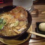 麺屋 空海 下高井戸店 - 味玉そば 醤油