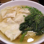 香港粥麺専家 - 海老ワンタンメン