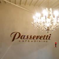 パセレッティ - 1階 シャンデリア