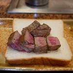 鉄板焼ステーキ 一ッ葉ミヤチク - 料理写真: