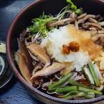 食処おゝき - 山菜おろしそば(冷)