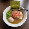 よじむ - 料理写真:鶏白湯と海老の出汁コラボ 桜エビが載っただけじゃあーりません