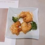 名鉄菜館 - ブロッコリーとエビのオーロラソース