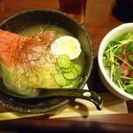 たむら屋 - 冷麺ハーフセット 860円