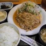 家族亭富穂 - 料理写真:若どりガーリック定食