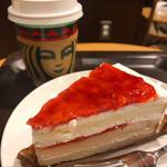 スターバックス・コーヒー - いちごのホワイトケーキ