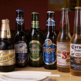 世界のビールが堪能できます♪