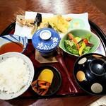北野水産 - 天ぷら御膳 1180円
