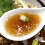 142012133 - 鴨と松茸の醤油そば