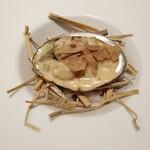 142020368 - アワビ ポルチーニ茸 イタリアのアルバの白トリュフを使ったフリカッセ(煮込み)