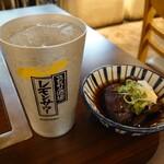 天神橋2丁目食堂 - レモンサワーとハイボールは180円